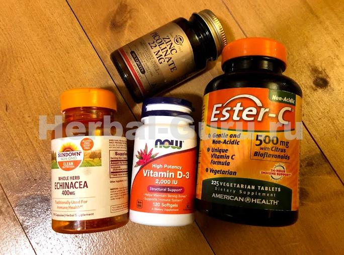 Наконец-то на iHerb появился витамин С! Пополняю запасы перед второй волной пандемии!